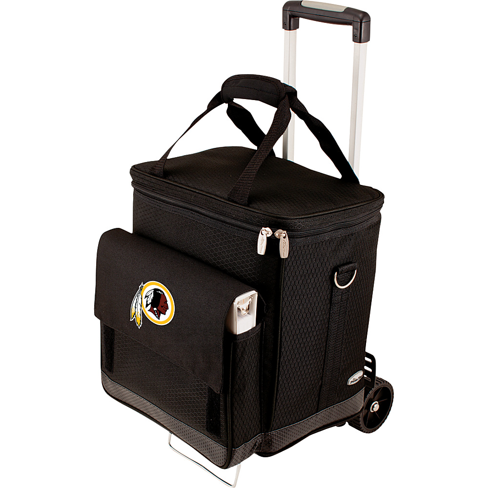 Picnic Time Washington Redskins Cellar w/Trolley Washington Redskins - Picnic Time Outdoor Coolers - Outdoor, Outdoor Coolers