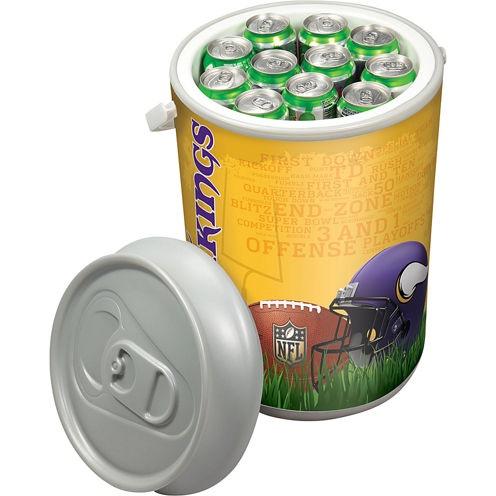 Picnic Time Minnesota Vikings Mega Can Cooler Minnesota Vikings - Picnic Time Outdoor Coolers - Outdoor, Outdoor Coolers