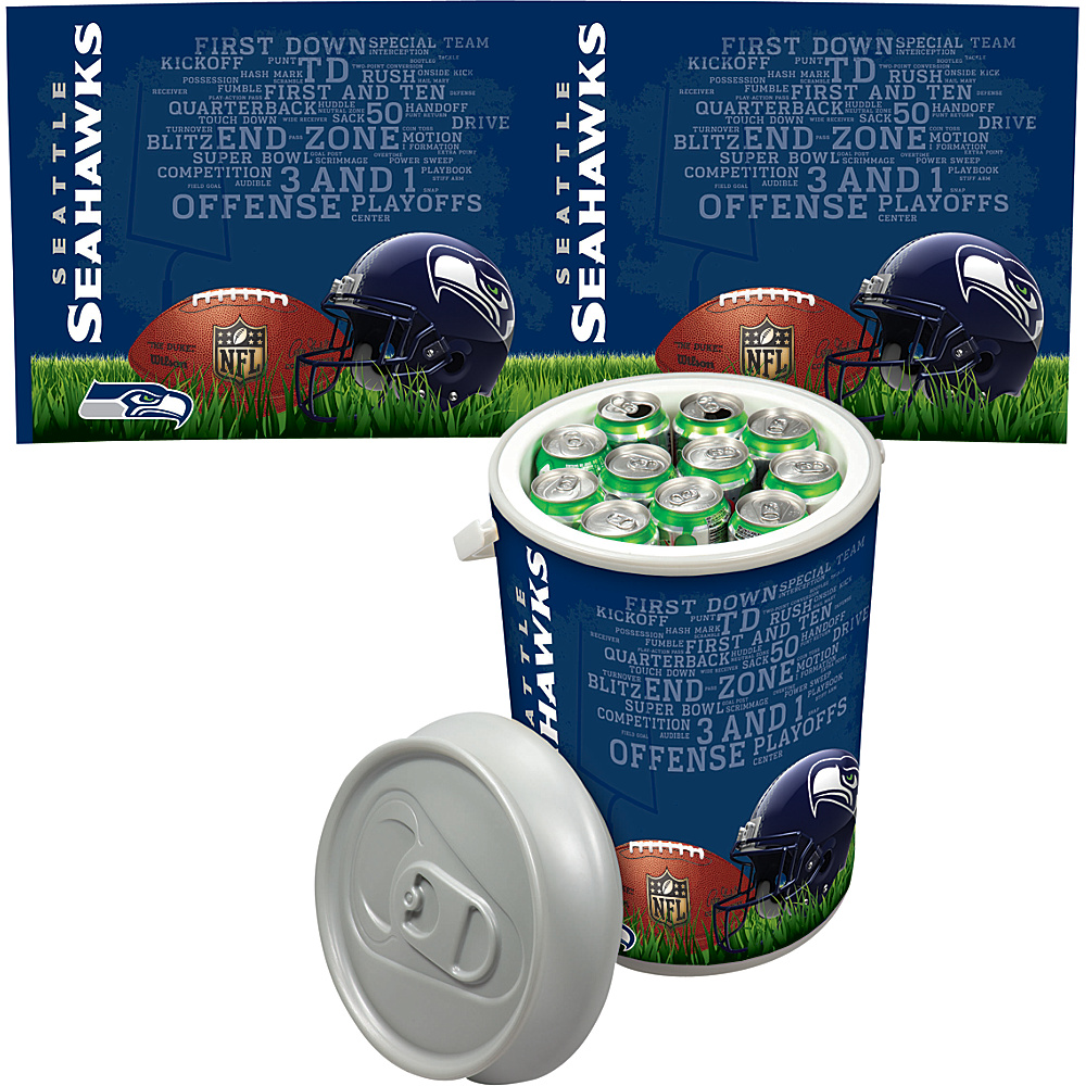 Picnic Time Seattle Seahawks Mega Can Cooler Seattle Seahawks - Picnic Time Outdoor Coolers - Outdoor, Outdoor Coolers