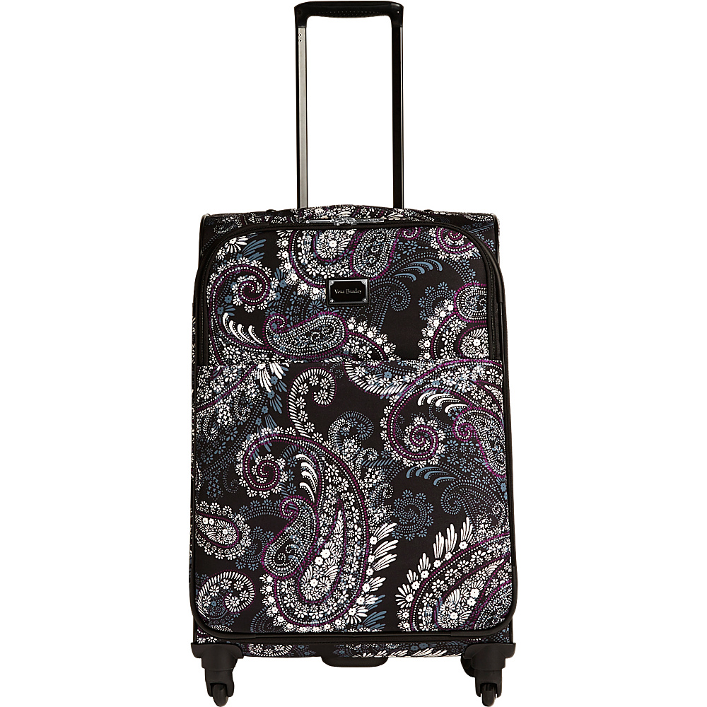 Vera Bradley 27 Spinner Paisley Petals - Vera Bradley Softside Checked - Luggage, Softside Checked