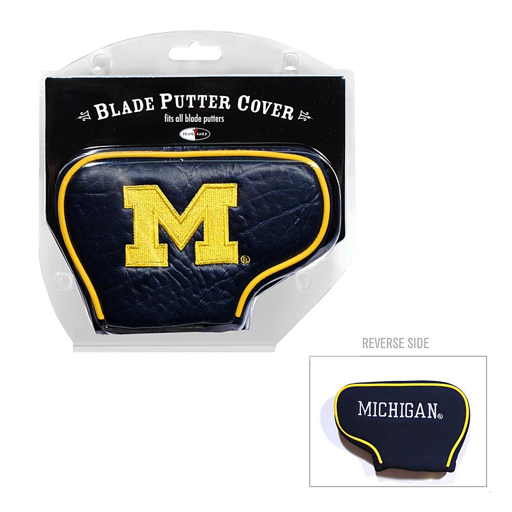 Team Golf USA University of Michigan Wolverines Blade Putter Cover Team Color - Team Golf USA Golf Bags