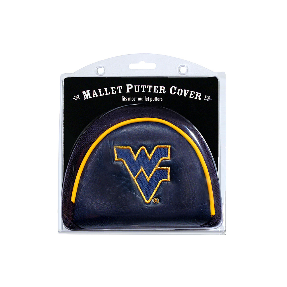 Team Golf USA West Virginia University Mountaineers Mallet Putter Cover Team Color - Team Golf USA Golf Bags