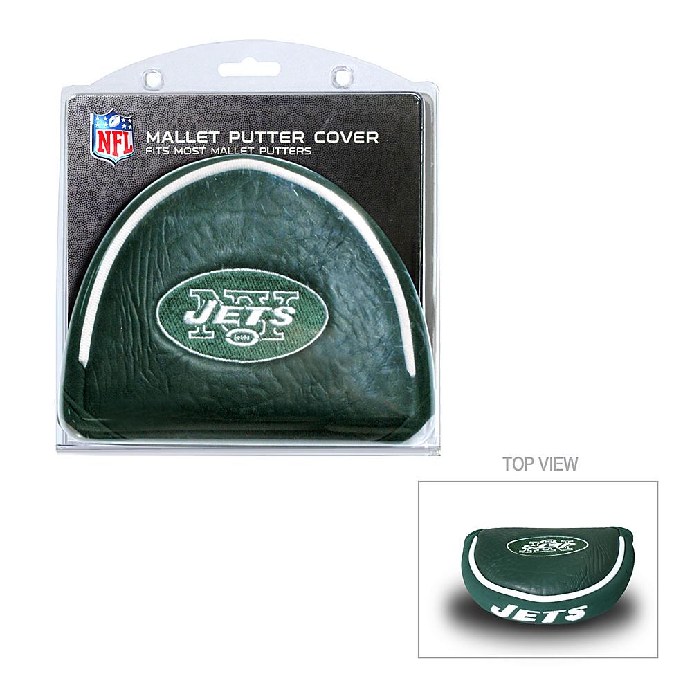 Team Golf USA New York Jets Mallet Putter Cover Team Color - Team Golf USA Golf Bags