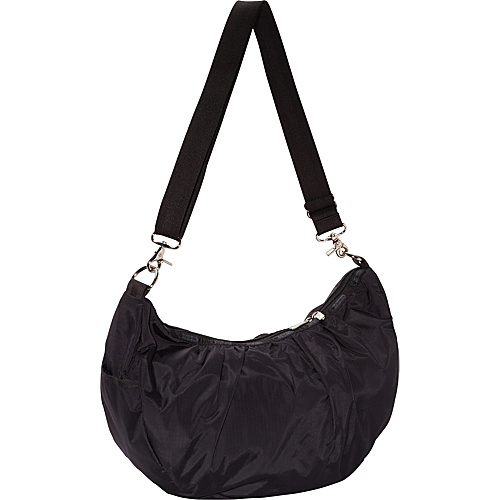 LeSportsac Veronica Hobo Black - LeSportsac Fabric Handbags