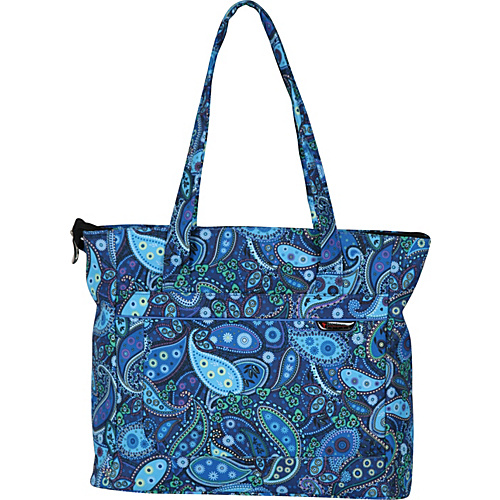 Ricardo Beverly Hills Sausalito Superlight 2.0 Shopper Rhythm N Blue Paisley - Ricardo Beverly Hills Luggage Totes and Satchels