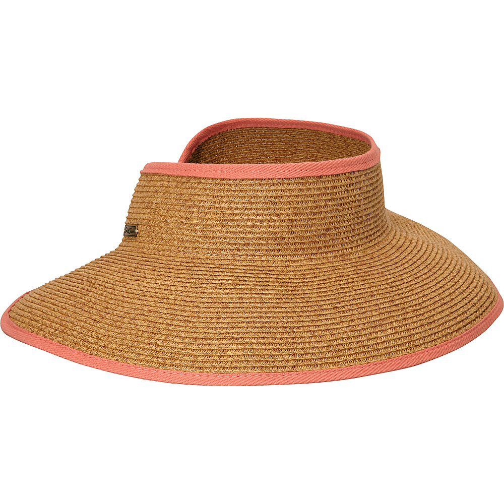 Sun N Sand Bare Necessity One Size - Coral - Sun N Sand Hats - Fashion Accessories, Hats