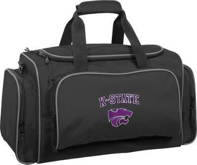 Wally Bags Kansas State Wildcats 21 inch Collegiate Duffel Black - Wally Bags Rolling Duffels