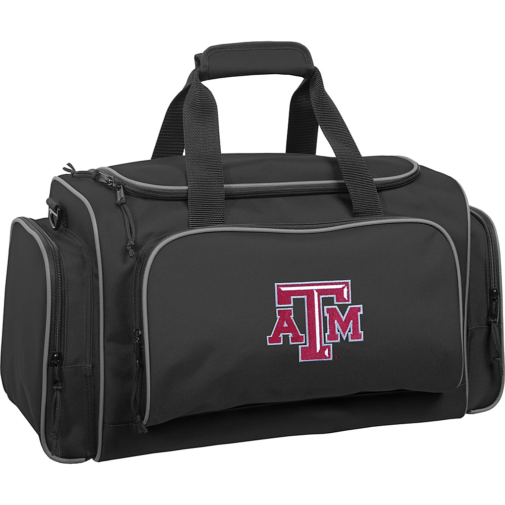 Wally Bags Texas A M University Aggies 21 Collegiate Duffel Black Wally Bags Rolling Duffels