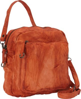 Latico Leathers Peyton Crossbody Orange - Latico Leathers Leather Handbags