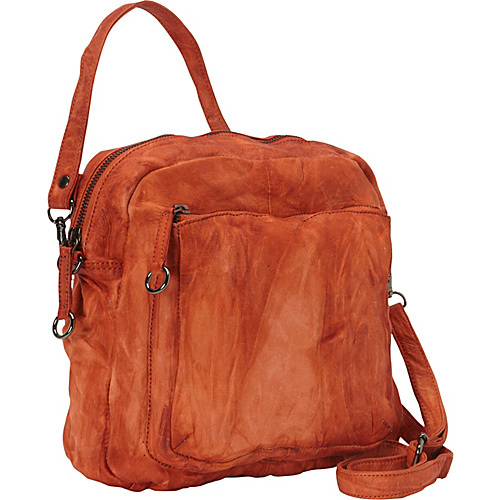 Latico Leathers Peyton Crossbody Orange - Latico Leathers Leather Handbags