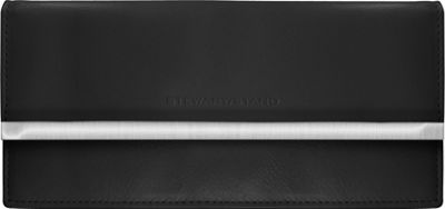 Stewart Stand Clutch Stainless Steel Wallet  - RFID Black - Stewart Stand Women's Wallets