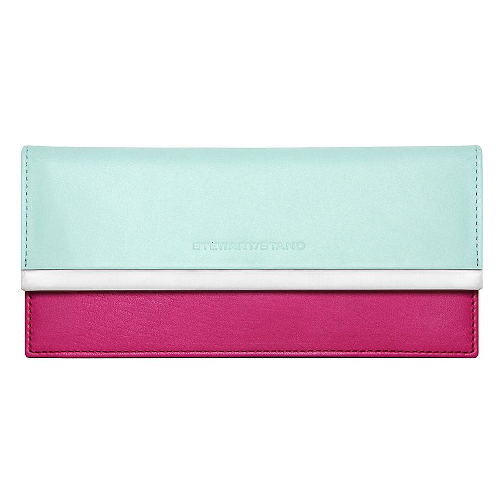 Stewart Stand Clutch Stainless Steel Wallet RFID Berry amp; Jade Stewart Stand Women s Wallets