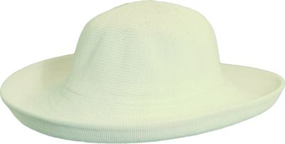 Scala Hats Knitted Poly-Straw Big Brim One Size - Natural - Scala Hats Hats/Gloves/Scarves