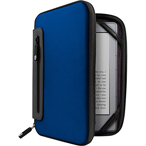 Marware Jurni for Kindle, Kindle Touch, & Kindle Paperwhite Blue/Gray - Marware Personal Electronic Cases