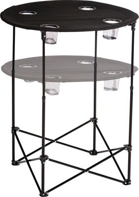 Picnic Plus Scrimmage Tailgate Table Black - Picnic Plus Outdoor Accessories