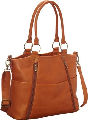 Le Donne Leather Nevington Convertible Satchel Tan - Le Donne Leather Leather Handbags