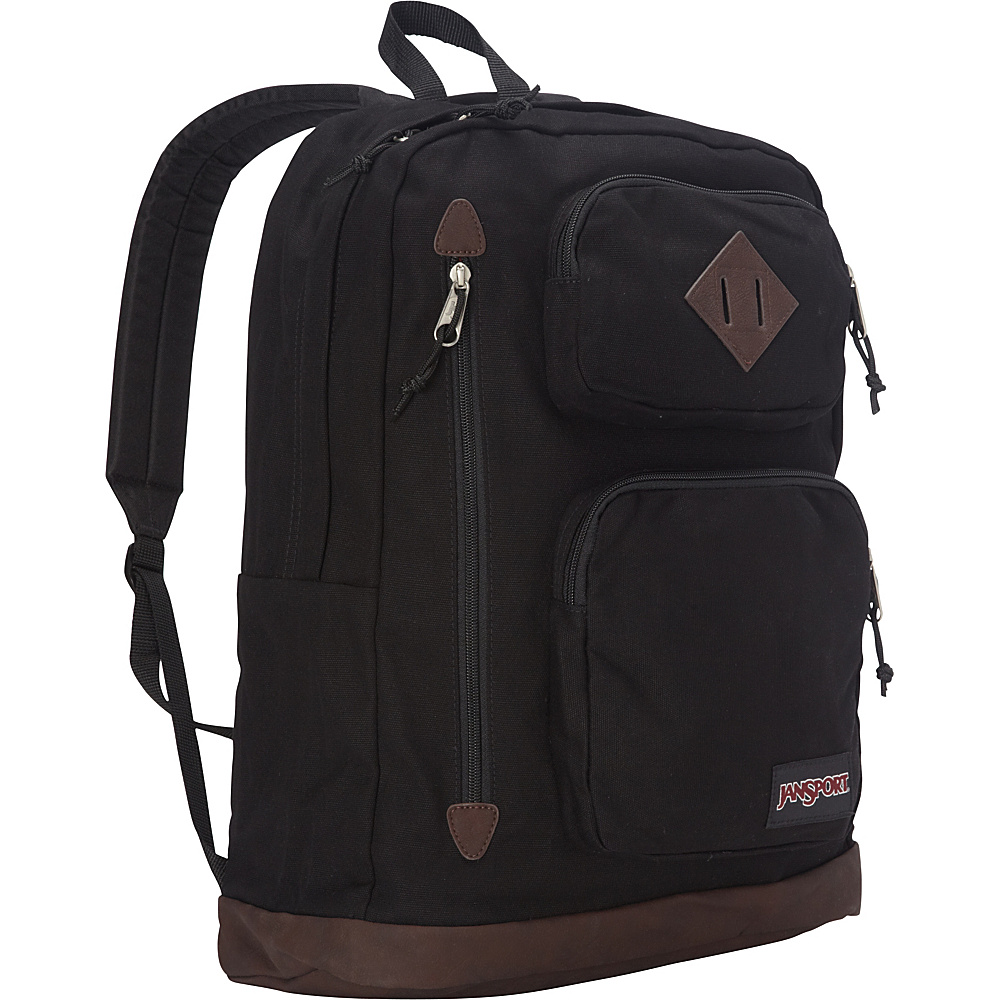 JanSport Houston Laptop Backpack Black - JanSport Laptop Backpacks - Backpacks, Laptop Backpacks