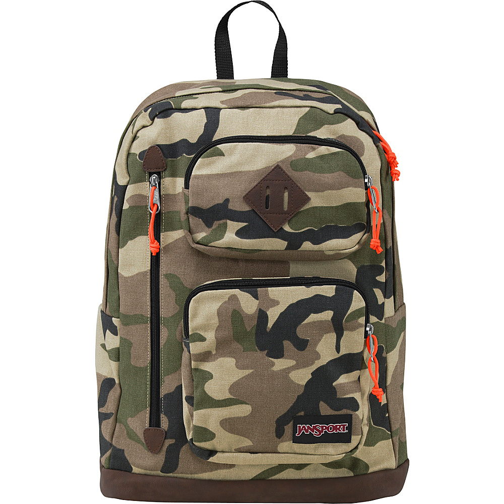 JanSport Houston Laptop Backpack Beige Conflict Camo - JanSport Laptop Backpacks - Backpacks, Laptop Backpacks
