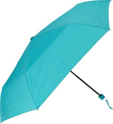 Samsonite Travel Accessories Manual Compact Round Umbrella Teal - Samsonite Travel Accessories Umbrellas and Rain Gear