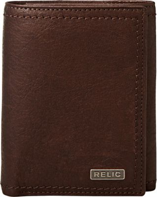 Relic Mark Trifold Wallet Brown - Relic Men's Wallets