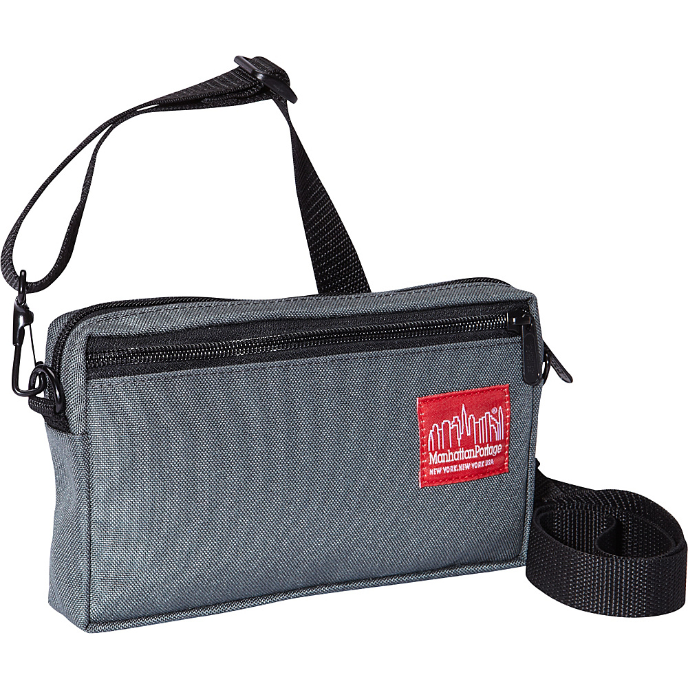 Manhattan Portage Jogger Shoulder Bag Gray - Manhattan Portage Other Mens Bags - Work Bags & Briefcases, Other Men's Bags