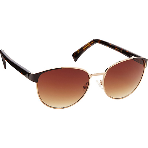 Vince Camuto Eyewear Retro Combo Sunglasses Gold