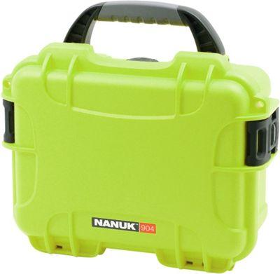NANUK 904 Water Tight Protective Case w/ Foam Insert Lime - NANUK Camera Accessories