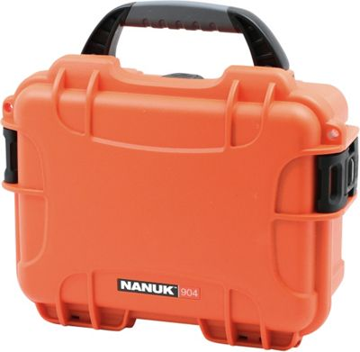 NANUK 904 Water Tight Protective Case w/ Foam Insert Orange - NANUK Camera Accessories