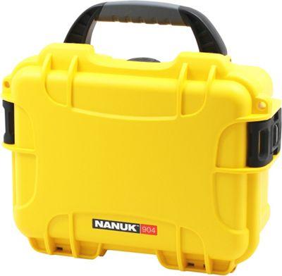 NANUK 904 Water Tight Protective Case w/ Foam Insert Yellow - NANUK Camera Accessories