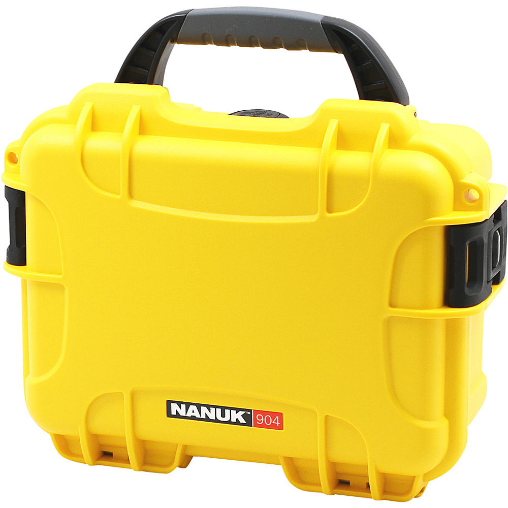 NANUK 904 Case With 3 Part Foam Insert Yellow - NANUK Camera