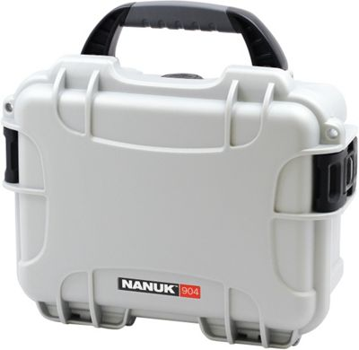 NANUK 904 Water Tight Protective Case w/ Foam Insert Silver - NANUK Camera Accessories