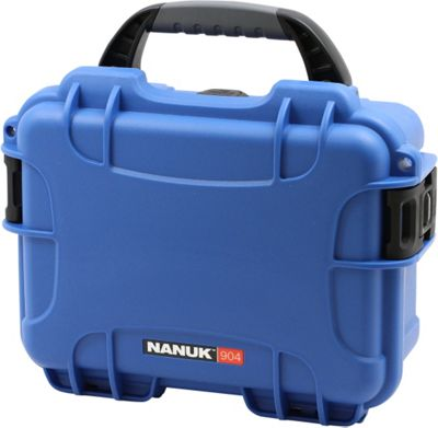 NANUK 904 Water Tight Protective Case w/ Foam Insert Blue - NANUK Camera Accessories