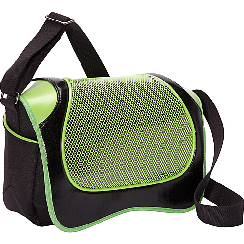 Aerystar Taranto Iconic Series Messenger Bag Light Green / Black - Aerystar Messenger Bags