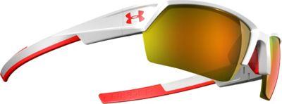 Under Armour Eyewear UA Igniter II Sunglasses Shiny White/ML Orange Mirror - Under Armour Eyewear Sunglasses