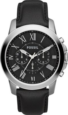 Fossil Grant Black - Fossil Watches