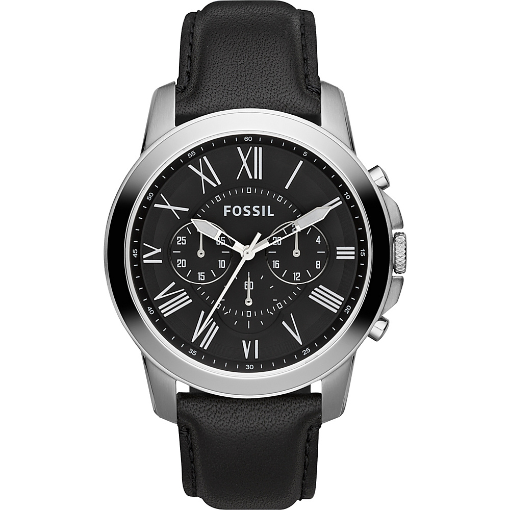 Fossil Grant Black - Fossil Watches - Fashion Accessories, Watches