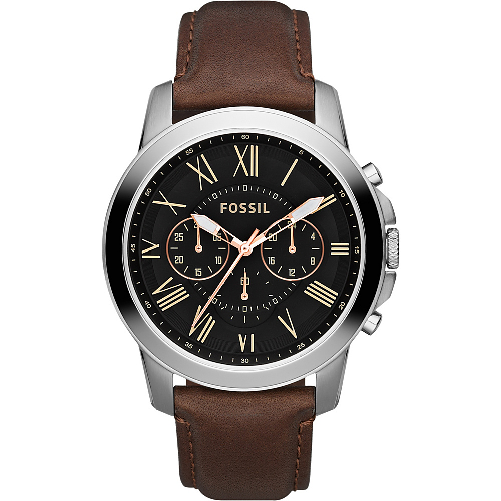 Fossil Grant Brown - Fossil Watches - Fashion Accessories, Watches