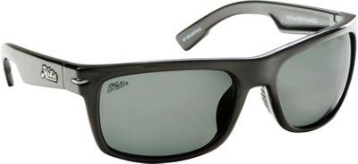 Hobie Eyewear Olas Shiny Black Frame With Grey PC Lens - Hobie Eyewear Sunglasses