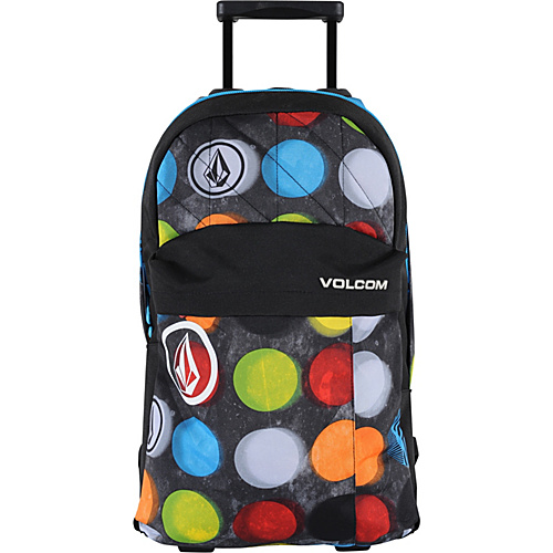 Volcom Prohibit Roller Backpack Dot Mess - Volcom Wheeled Backpacks