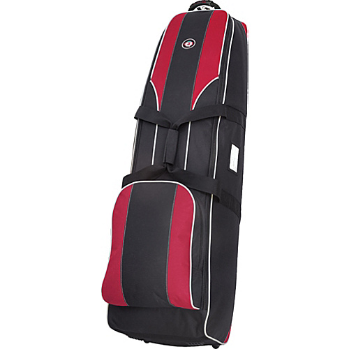 Golf Travel Bags LLC Viking 4.0 Black/Red - Golf Travel Bags LLC Golf Bags