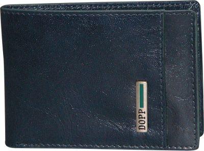 Dopp Beta RFID Front Pocket Slimfold Navy - Dopp Men's Wallets