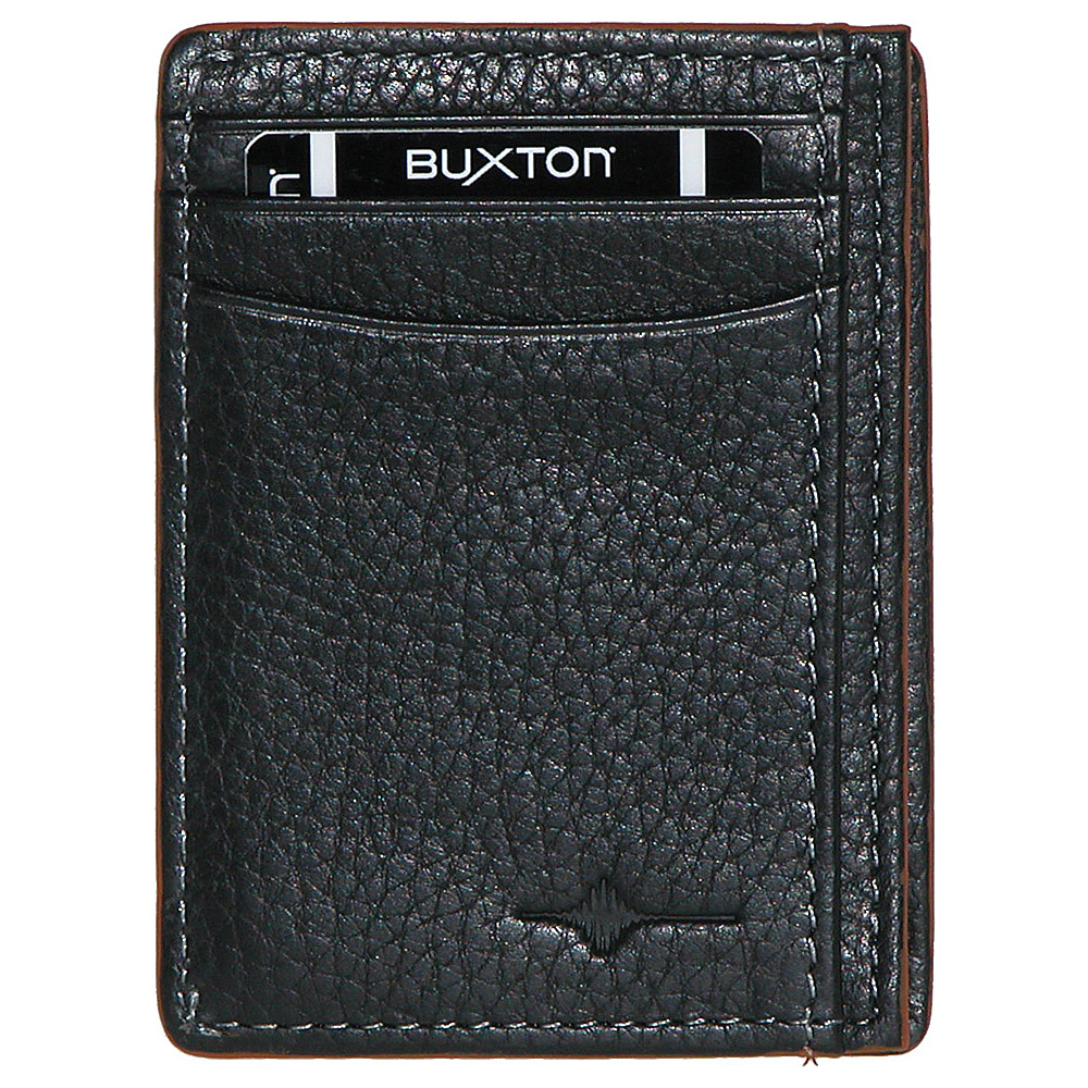Buxton RFID Front Pocket Get-Away Tan - Buxton Mens Wallets - Work Bags & Briefcases, Men's Wallets