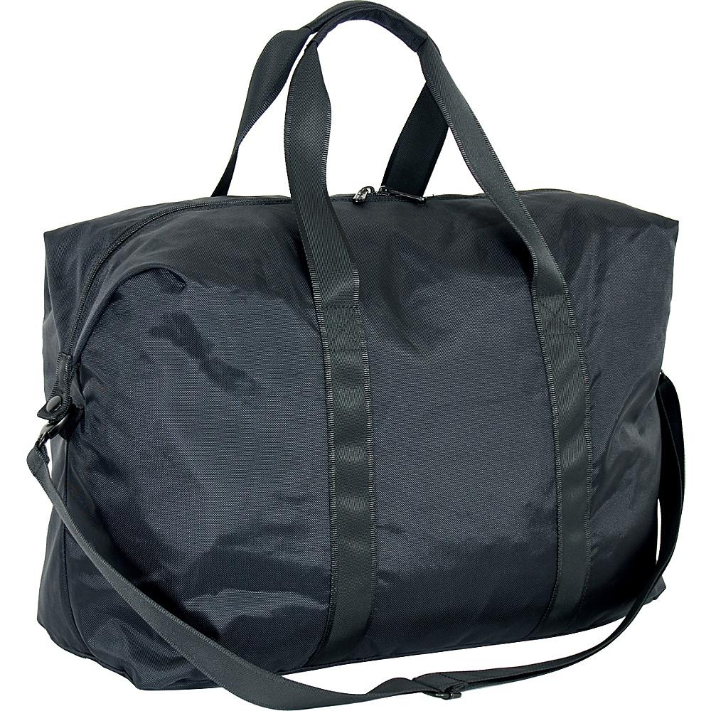 """Netpack U-zip 20"""" Ballistic nylon tote Black - Netpack Packable Bags"""