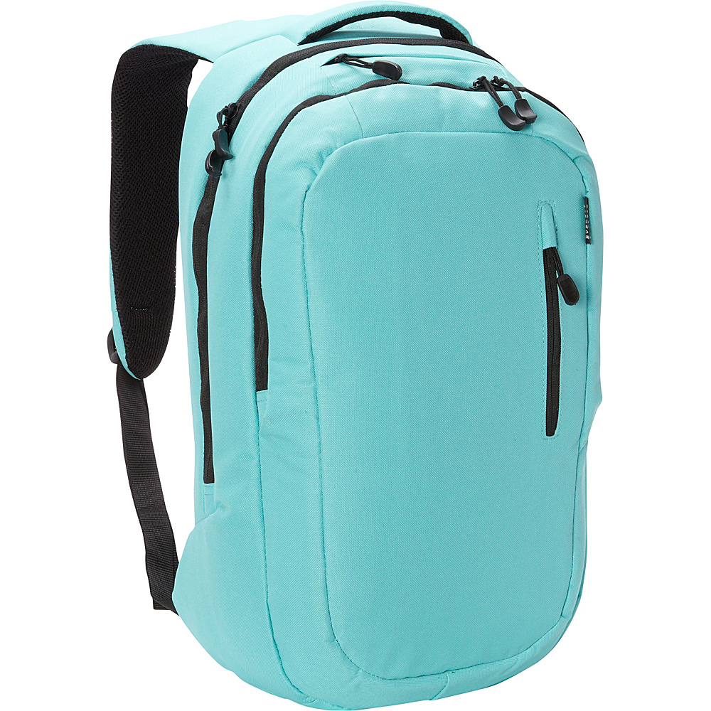 Everest Deluxe Laptop Backpack Aqua Blue Everest Business Laptop Backpacks