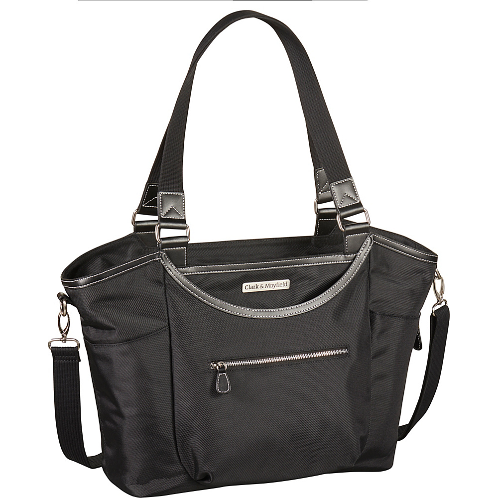 Clark Mayfield Bellevue Laptop Handbag 18.4 Black Clark Mayfield Women s Business Bags