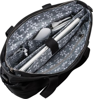 Clark & Mayfield Bellevue Laptop Handbag 18.4 inch Navy Blue - Clark & Mayfield Women's Business Bags