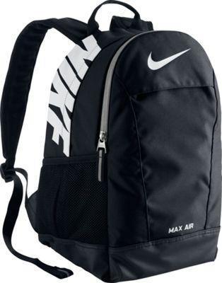 Nike Young Athletes Max Air Team Training SM Backpack Black/Black/White - Nike School & Day Hiking Backpacks