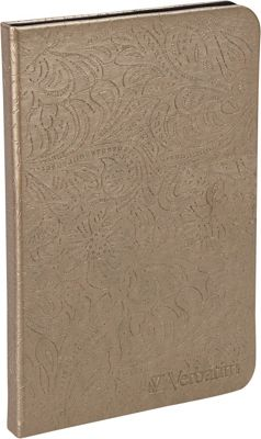 Verbatim Folio Case for Kindle with LED Light Bronze - Verbatim Electronic Cases