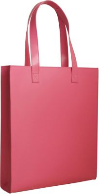 Paperthinks Long Tote Bag Fuchsia - Paperthinks Leather Handbags