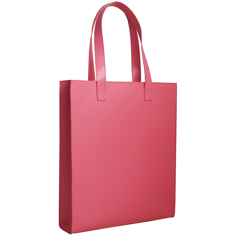 Paperthinks Long Tote Bag Fuchsia Paperthinks Leather Handbags